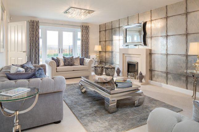 "Thumbnail Detached house for sale in ""Stowe"" at Carters Lane, Kiln Farm, Milton Keynes"