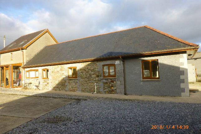 Thumbnail Semi-detached bungalow to rent in Llanddarog, Carmarthen