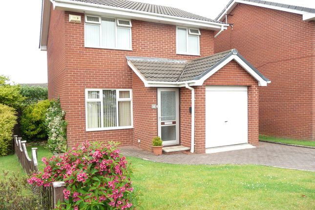 Thumbnail Detached house to rent in Finchdean Close, Greasby, Wirral