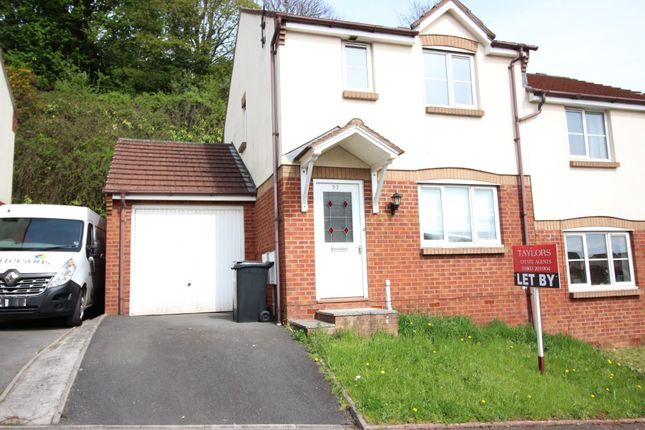 Thumbnail Semi-detached house to rent in Windward Road, Torquay