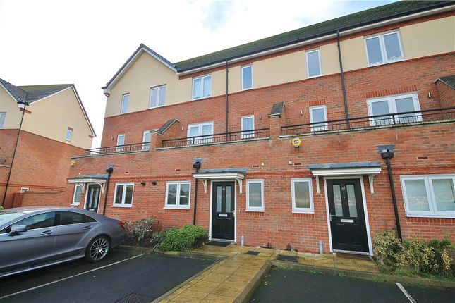 Thumbnail Town house for sale in Longford Way, Staines, Middlesex