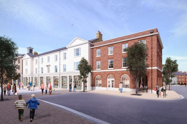 Thumbnail Flat for sale in Sovereign House, Crown Square, North East Quadrant, Poundbury, Dorchester