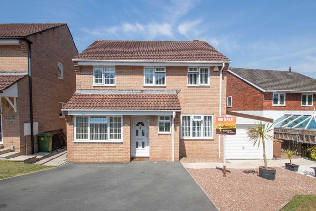 Thumbnail Detached house for sale in Beare Close, Hooe, Plymstock