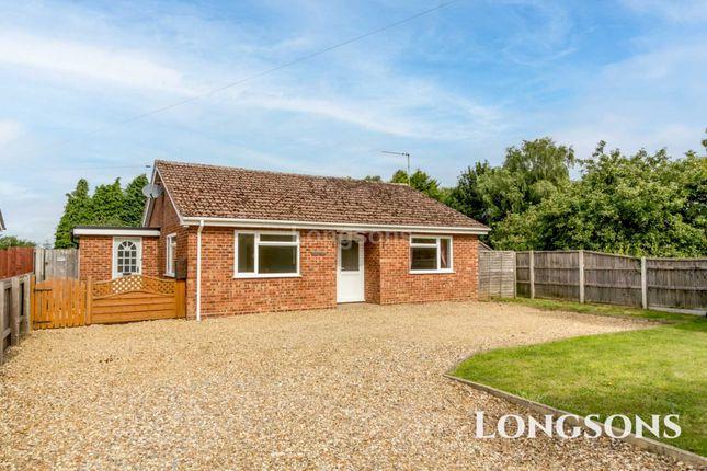 Thumbnail Detached bungalow for sale in Fen Lane, Marham