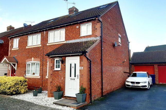 Thumbnail Semi-detached house for sale in Clifford Avenue, Walton Cardiff, Tewkesbury