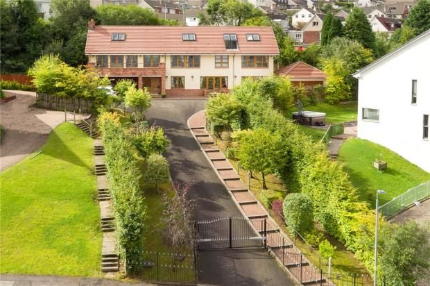 Thumbnail 5 bed detached house to rent in Turnberry Avenue, Gourock, Inverclyde