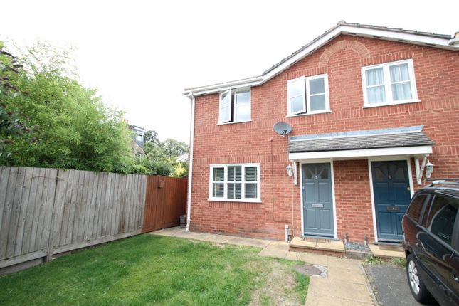 Thumbnail End terrace house to rent in Livesey Close, Kingston Upon Thames