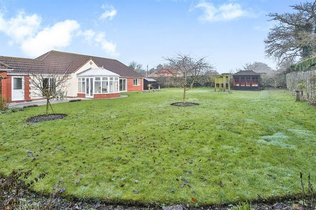 Thumbnail Detached bungalow for sale in The Street, Mileham, King's Lynn