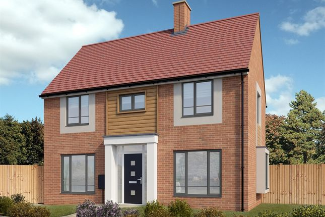 "Thumbnail Detached house for sale in ""The Clayton"" at Hayfield Way, Bishops Cleeve, Cheltenham"