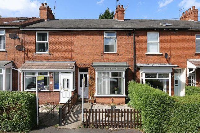 Thumbnail Terraced house for sale in Park Avenue, Hessle
