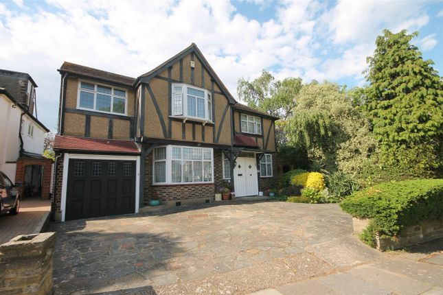 Thumbnail Detached house for sale in Oakleigh Gardens, Edgware, Middlesex