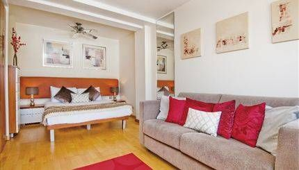 1 bed flat to rent in Roland Gardens, South Kensington SW7.