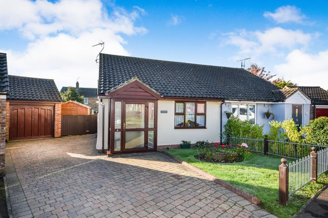 Thumbnail Semi-detached bungalow for sale in Wigg Road, Fakenham