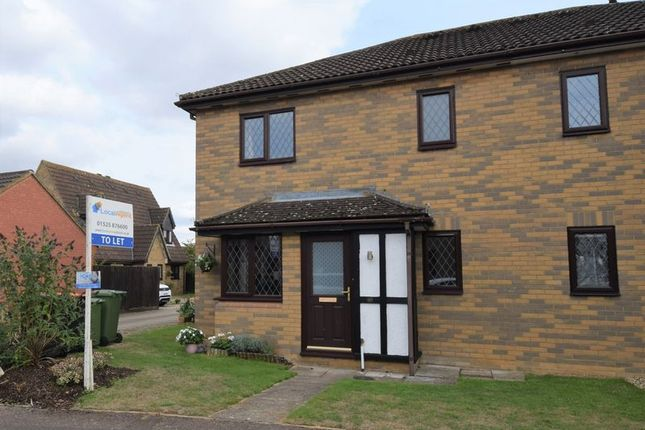 1 bed terraced house to rent in Frenchmans Close, Toddington, Dunstable LU5