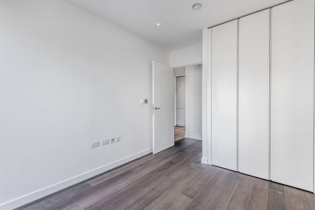 Bedroom of No. 2, Upper Riverside, Cutter Lane, Greenwich Peninsula SE10