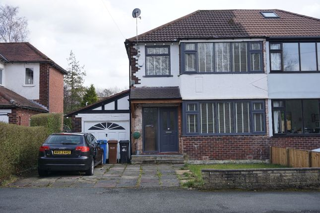 Semi-detached house for sale in Hillcrest Road, Bramhall, Stockport