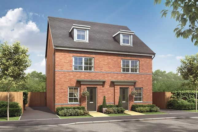 "Thumbnail Semi-detached house for sale in ""Kingsville"" at Hale Road, Speke, Liverpool"