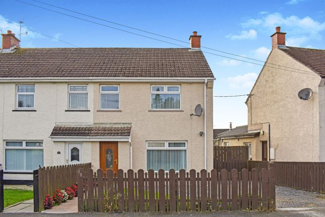 Thumbnail End terrace house for sale in Islandkelly Park, Lisburn