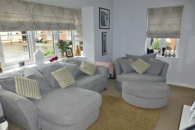 Lounge of John Clare Close, Oakham LE15