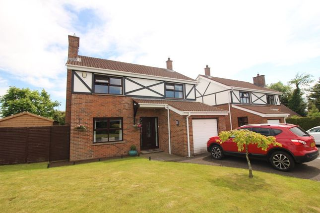 Thumbnail Detached house for sale in Maghaberry Manor, Maghaberry