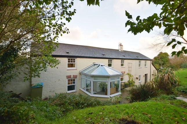 Thumbnail Equestrian property for sale in Rose Hill, Goonhavern, Truro