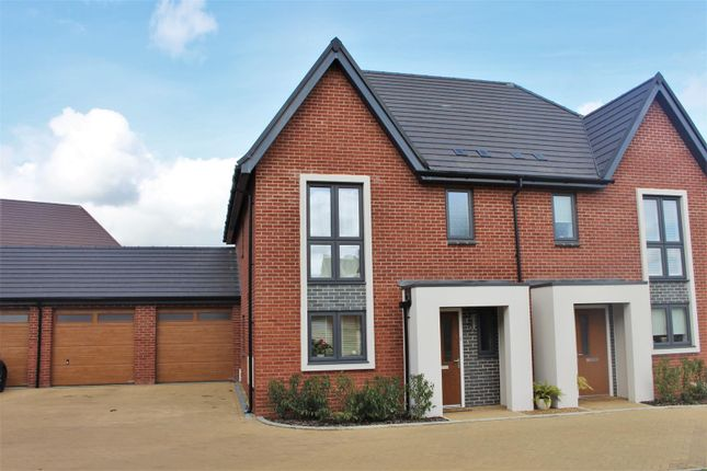 Thumbnail Semi-detached house for sale in Rievaulx Way, Daventry