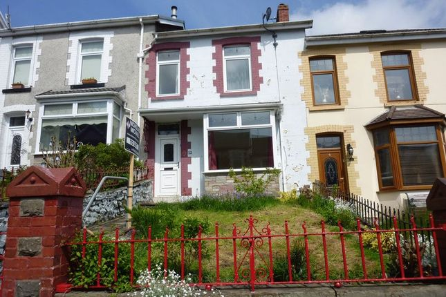 Thumbnail Terraced house for sale in Berw Road, Tonypandy