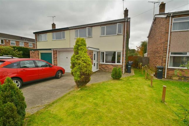 Thumbnail Semi-detached house for sale in St. Davids Close, Buckley
