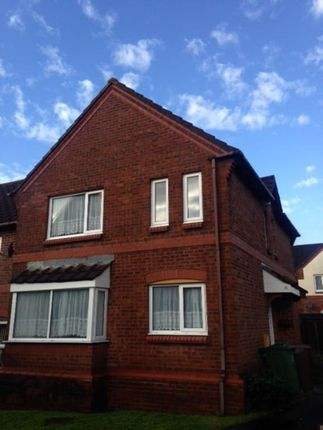 Thumbnail End terrace house to rent in Carroll Road, Plymouth