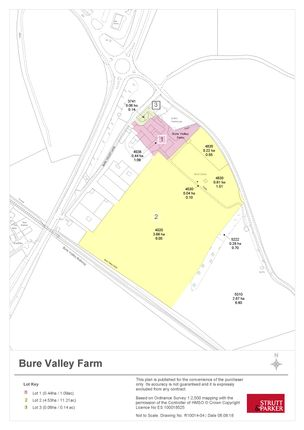 Thumbnail Land for sale in Burgh Road, Aylsham, Norwich
