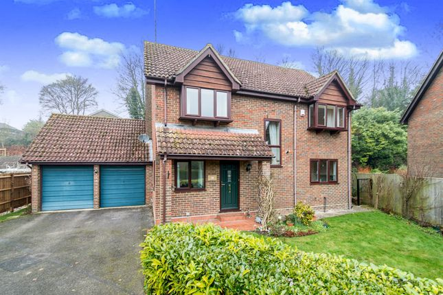Thumbnail Detached house for sale in Glebe Meadow, Overton, Basingstoke