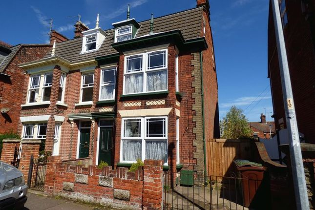 Thumbnail Semi-detached house for sale in Upper Cliff Road, Gorleston, Great Yarmouth