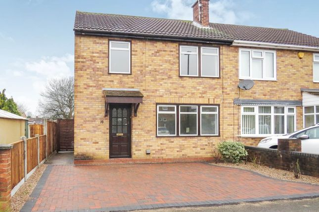 Thumbnail Semi Detached House For Sale In Lewiston Road Chaddesden Derby