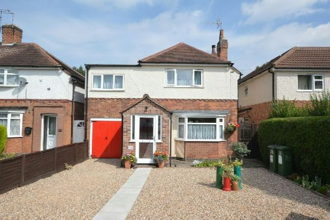 Thumbnail Detached house for sale in Hillsborough Road, Glen Parva, Leicester