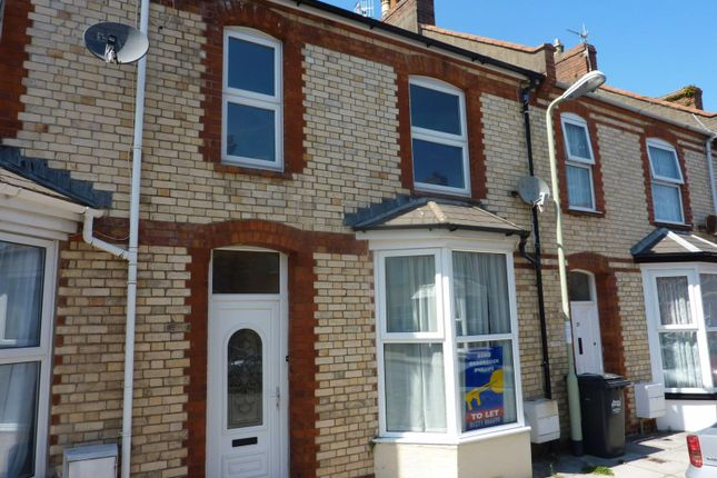 Thumbnail 3 bed terraced house to rent in Westbourne Grove, Ilfracombe