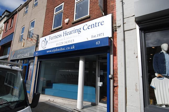 Thumbnail Retail premises to let in Cavendish Street, Barrow-In-Furness, Cumbria