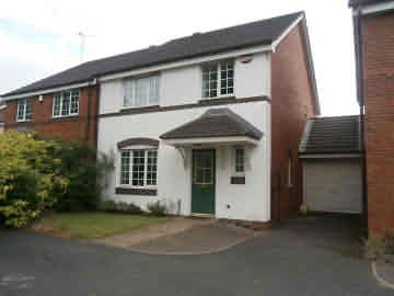 Thumbnail Link-detached house to rent in Tyburn Road, Pype Hayes, Birmingham