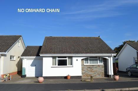 Thumbnail Detached bungalow for sale in Mead Park, Bickington, Barnstaple
