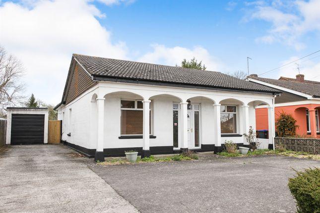 Thumbnail Detached bungalow for sale in London Road, Amesbury, Salisbury