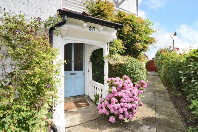 Front Door of Angel Road, Thames Ditton KT7