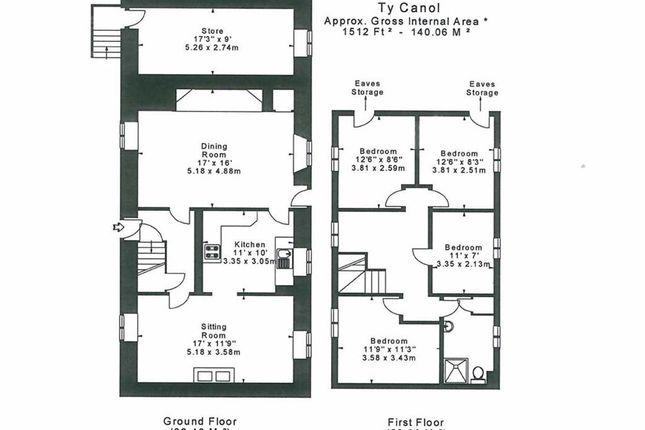 <U>Original Floor Plan</U>