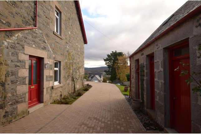 Driveway of Middle Terrace, Kingussie PH21