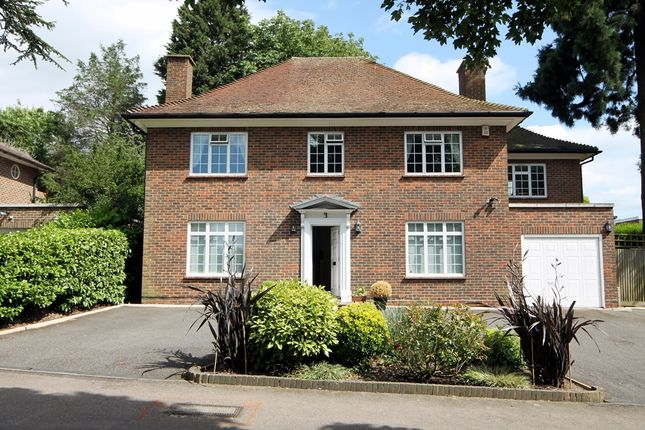 Thumbnail Detached house for sale in Warren Road, Bushey Heath