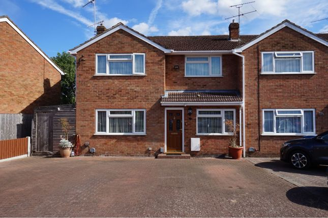 Thumbnail Semi-detached house for sale in Alton Ride, Blackwater