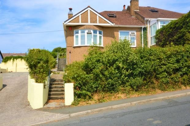 Thumbnail Semi-detached bungalow for sale in St Stephens Road, Saltash, Cornwall