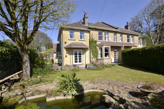 Thumbnail Semi-detached house for sale in Flatwoods Road, Claverton Down, Bath, Somerset