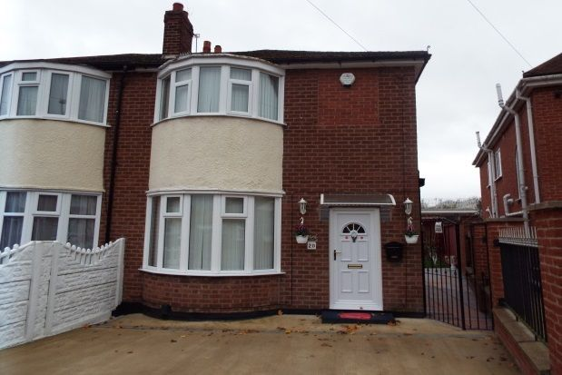 Thumbnail Semi-detached house to rent in Pauline Avenue, Leicester