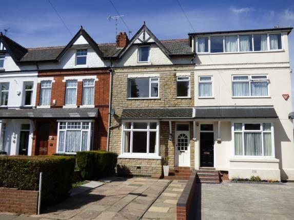 Thumbnail Terraced house for sale in Livingstone Road, Kings Heath, Birmingham, West Midlands