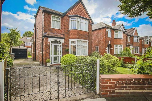 Thumbnail Detached house for sale in Green Walk, Stretford, Manchester