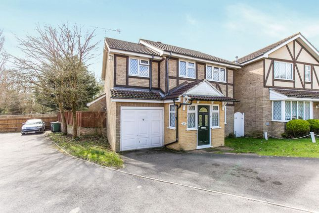 Thumbnail Detached house to rent in Tippits Mead, Binfield, Bracknell